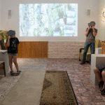 Daniel Landau, Visitors, 2018. Media installation